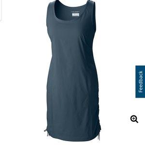 Columbia navy dress